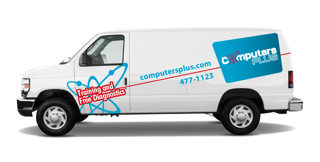 Computers Pluse - vehicle graphics