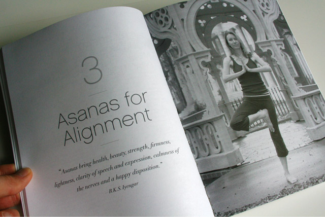 Yoga For Singers - book design