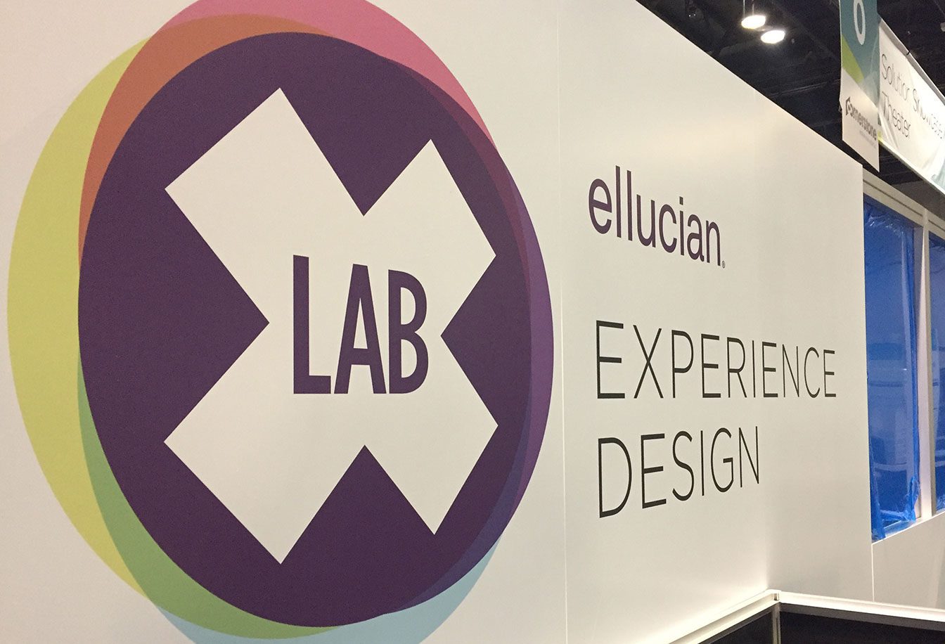 X Lab design thinking booth